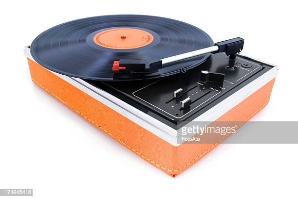 vintage turntable - deck stock pictures, royalty-free photos & images