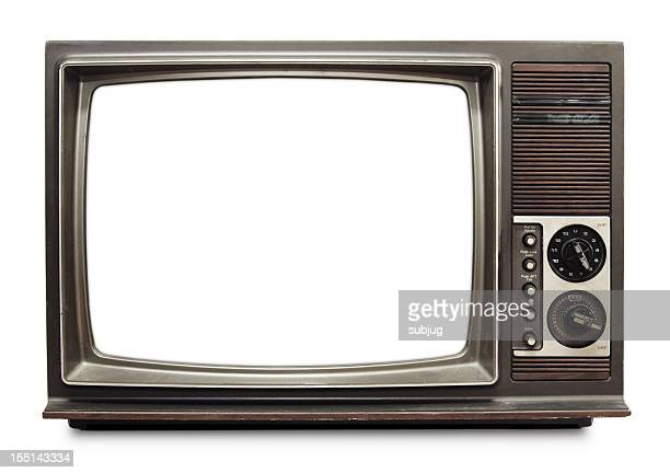 vintage tv - retro style stock pictures, royalty-free photos & images