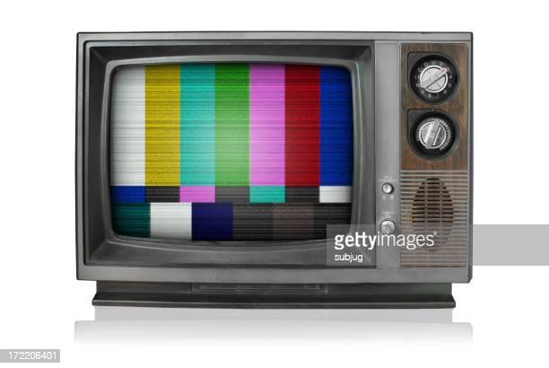 Vintage TV kein signal bars