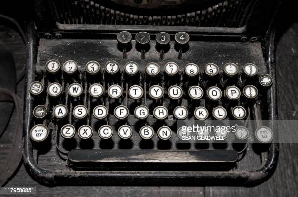 vintage typewriter - archival stock pictures, royalty-free photos & images