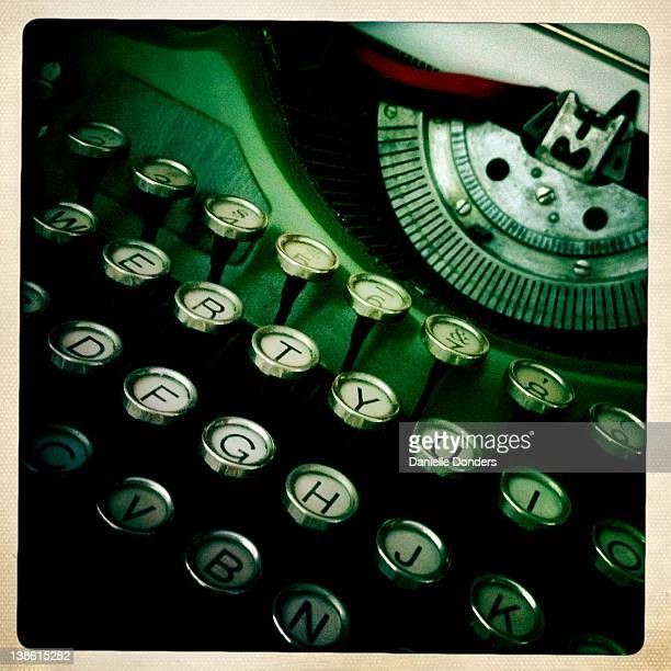 """vintage typewriter - """"danielle donders"""" stock pictures, royalty-free photos & images"""