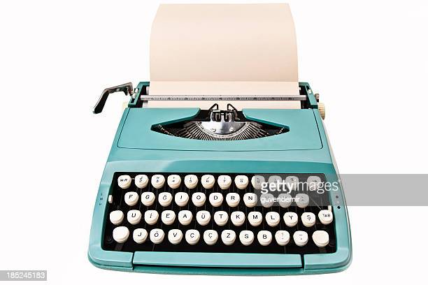 ビンテージタイプライター - タイプライター ストックフォトと画像