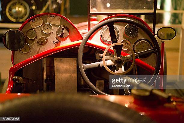 Vintage Vauxhall in Museum during The Bentley Drivers Club Tests Meeting at The Brooklands Museum 15th March 2015