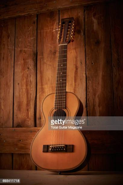 A Vintage Viator Paul Brett 12string travel guitar taken on November 14 2016