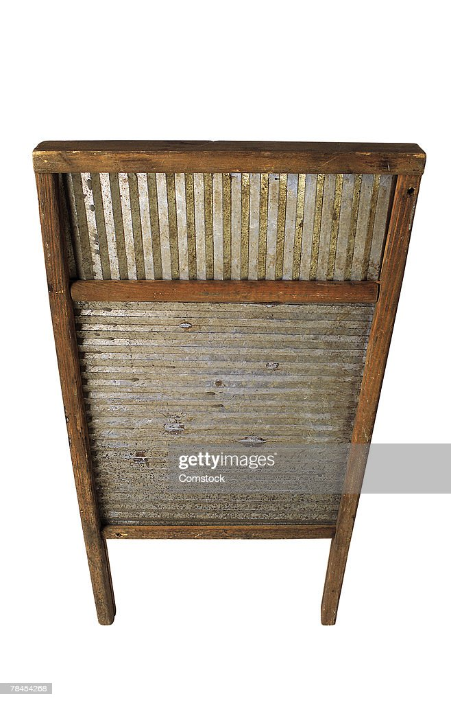 Vintage Washboard High-Res Stock Photo - Getty Images