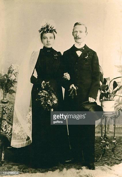 vintage mariage en 1898