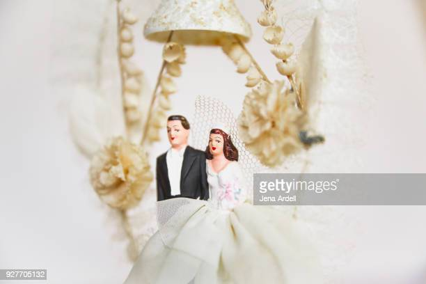 Vintage Wedding Topper Bride And Groom
