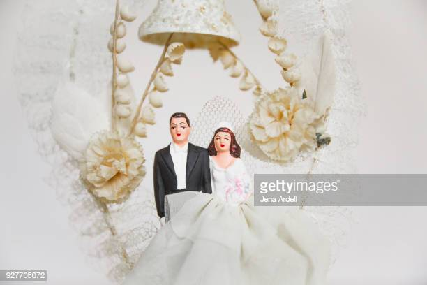 Vintage Wedding Topper Vintage Bride And Groom