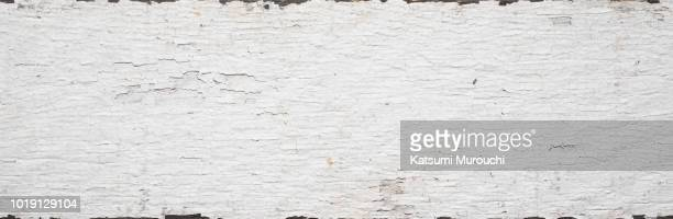 Vintage white wood board texture background