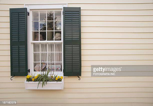 vintage window - shutter stock pictures, royalty-free photos & images