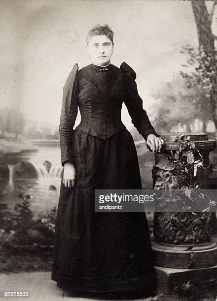 vintage woman - victorian stock pictures, royalty-free photos & images