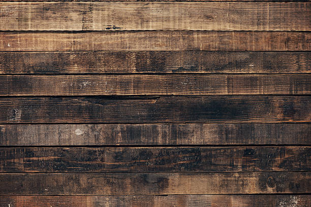 Vintage Wood Old White Wooden Board Background