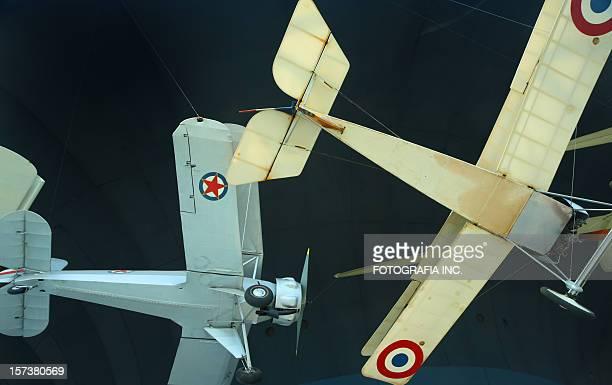 Vintage WW I fighter planes
