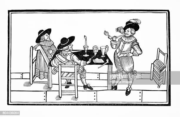 Vintners in an ale house 1642 From a broadsheet titled Health to All Artist Unknown