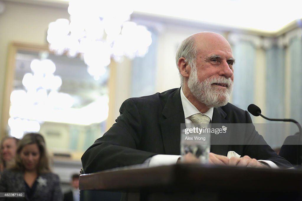 Senate Committee Hears Testimony From Vint Cerf On The Federal Research Portfolio : News Photo