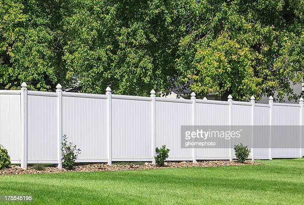 Vinyl fence