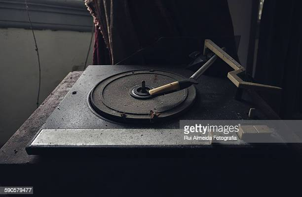 Vinyl old analogue audio storage