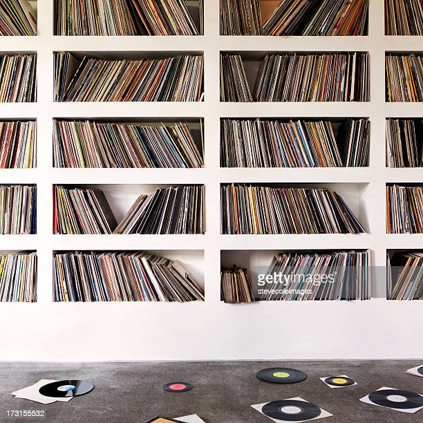 vinyl records - collection stock pictures, royalty-free photos & images