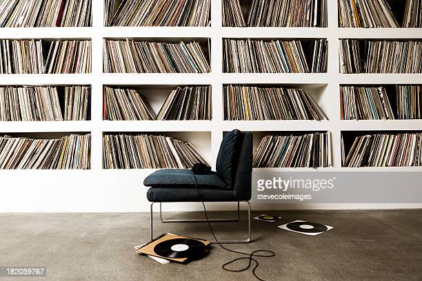 vinyle records - collection photos et images de collection