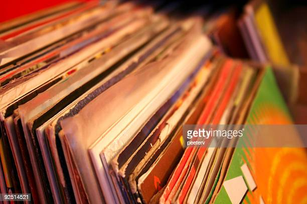 vinyl records - reggae stock photos and pictures