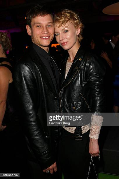Vinzenz Kiefer and Masha Tokareva attend the Tribute To Bambi Party at the Station on October 18 2012 in Berlin Germany