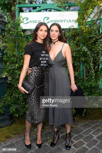 Viola and Vera Arrivabene attend the Welcome Dinner of the Christian Dior Couture S/S 2019 Cruise Collection on May 24 2018 in Paris France