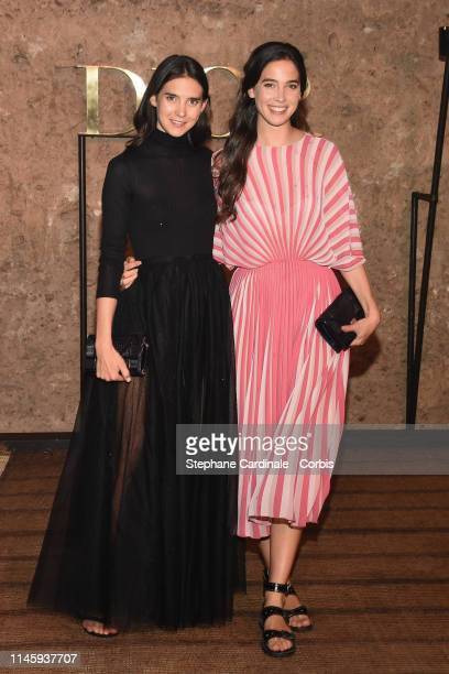 Viola and Vera Arrivabene attends the Christian Dior Couture S/S20 Cruise Collection on April 29 2019 in Marrakech Morocco