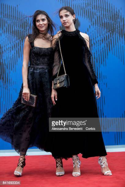 Viola Arrivabene and Vera Arrivabene attends the The Franca Sozzani Award during the 74th Venice Film Festival at Sala Giardino on September 1 2017...