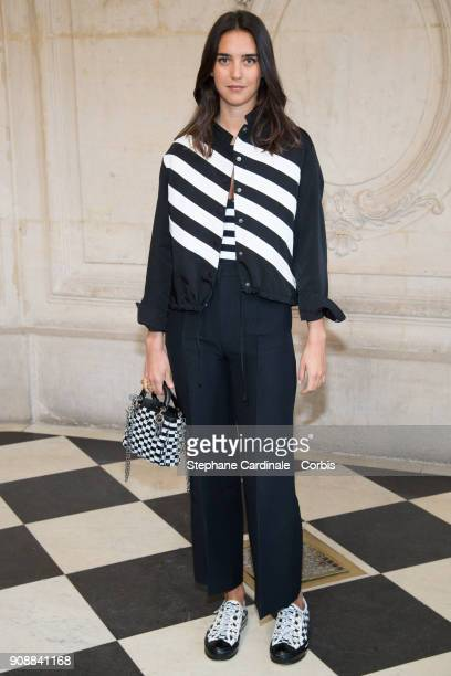 Viola Arrivabene attends the Christian Dior Haute Couture Spring Summer 2018 show as part of Paris Fashion Week January 22 2018 in Paris France