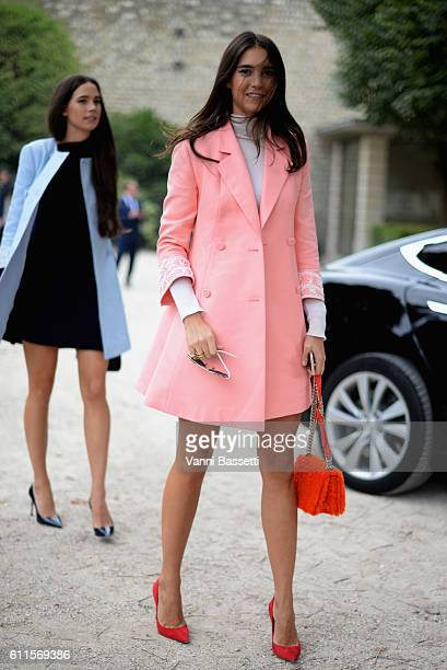 Viola Arrivabene attends the Christian Dior show as part of the Paris Fashion Week Womenswear Spring/Summer 2017 on September 30 2016 in Paris France