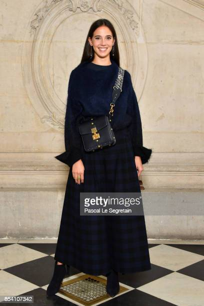 Viola Arrivabene attends the Christian Dior show as part of the Paris Fashion Week Womenswear Spring/Summer 2018 on September 26 2017 in Paris France
