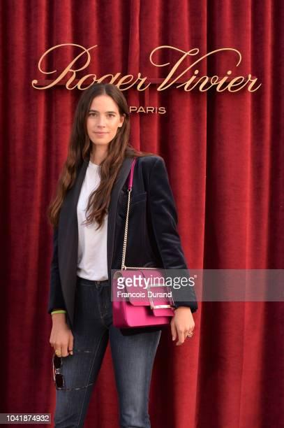 Viola Arrivabene attends the Roger Vivier Presentation Spring/Summer 2019 during Paris Fashion Week on September 27 2018 in Paris France