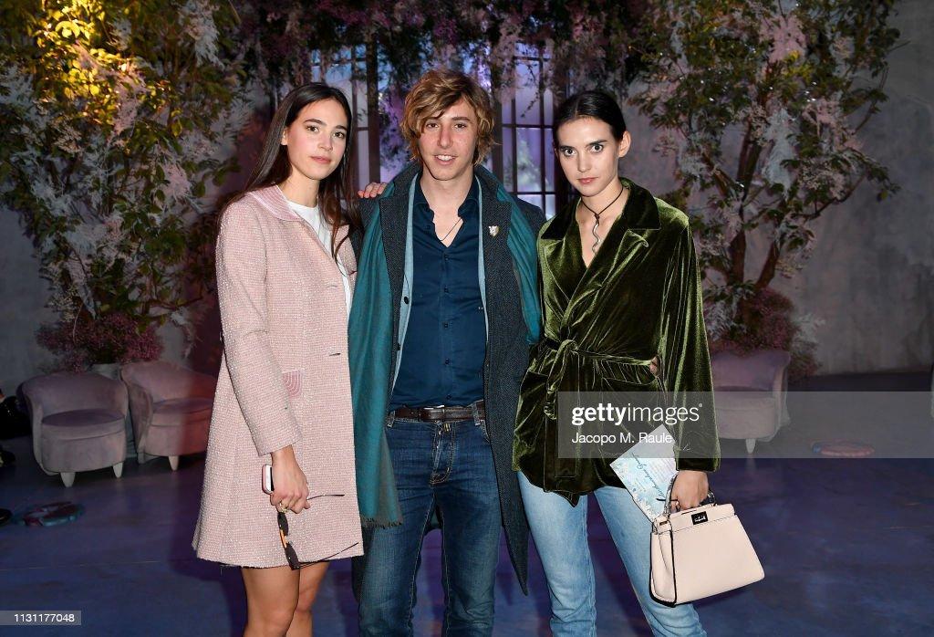 Luisa Beccaria - Front Row: Milan Fashion Week Autumn/Winter 2019/20 : News Photo