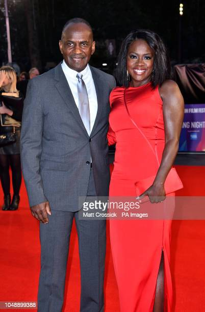 Viola Davis and husband Julius Tennon arriving for the 62nd BFI London Film Festival Opening Night Gala screening of Widows held at Odeon Leicester...