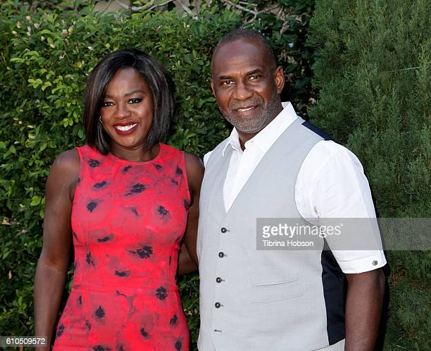 Viola Davis and Julius Tennon attend The Rape Foundation's annual brunch on September 25 2016 in Beverly Hills California