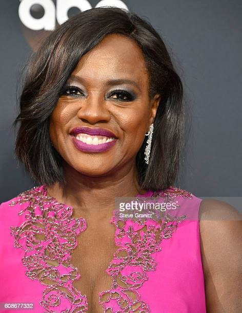 Viola Davis arrives at the 68th Annual Primetime Emmy Awards at Microsoft Theater on September 18 2016 in Los Angeles California