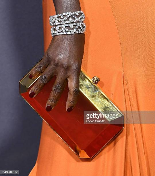 Viola Davis arrives at the 69th Annual Primetime Emmy Awards at Microsoft Theater on September 17 2017 in Los Angeles California