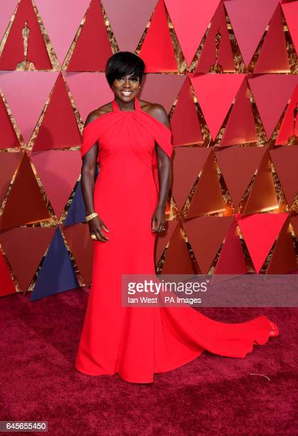 Viola Davis arriving at the 89th Academy Awards held at the Dolby Theatre in Hollywood Los Angeles USA