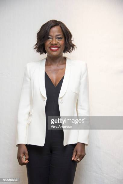 Viola Davis at the How to Get Away with Murder Press Conference at the Four Seasons Hotel on October 18 2017 in Beverly Hills California