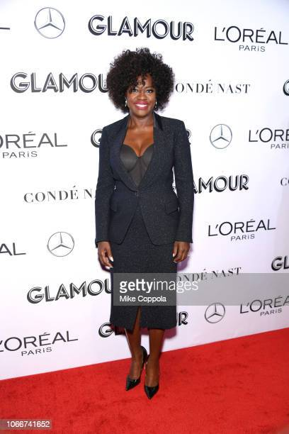 Viola Davis attends Glamour Women of the Year Awards 2018 at Spring Studios on November 12 2018 in New York City