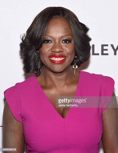 Viola Davis attends PaleyLive NY How To Get Away With Murder at The Paley Center for Media on November 12 2015 in New York City