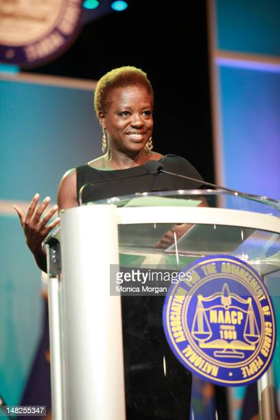Viola Davis attends the 2012 NAACP Awards Dinner at the George Brown Convention Center on July 12 2012 in Houston Texas
