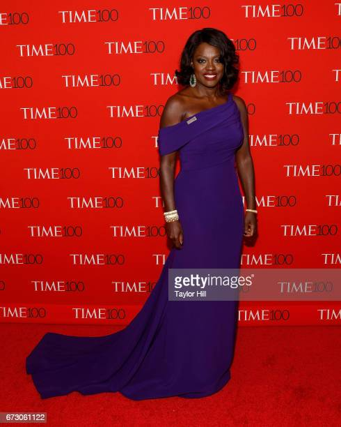 Viola Davis attends the 2017 Time 100 Gala at Jazz at Lincoln Center on April 25 2017 in New York City