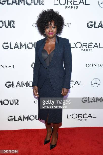 Viola Davis attends the 2018 Glamour Women Of The Year Awards Women Rise on November 12 2018 in New York City