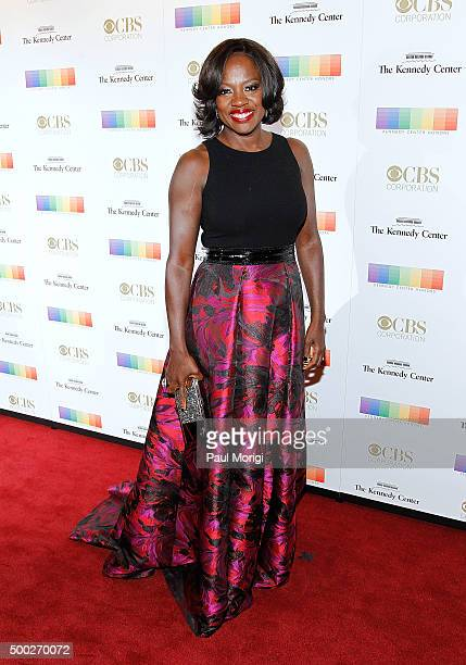 Viola Davis attends the 38th Annual Kennedy Center Honors Gala at John F Kennedy Center for the Performing Arts on December 6 2015 in Washington DC
