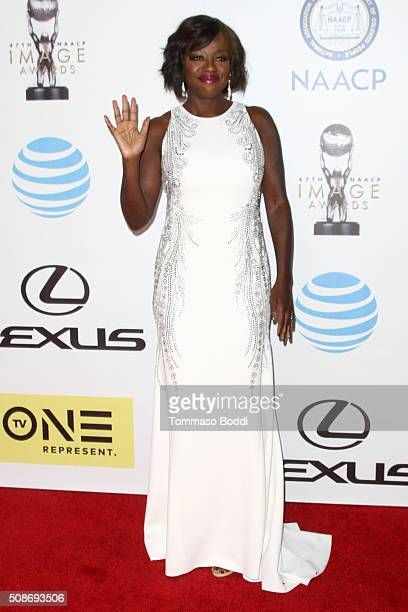 Viola Davis attends the 47th NAACP Image Awards held at Pasadena Civic Auditorium on February 5 2016 in Pasadena California
