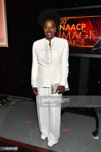 Viola Davis attends the 50th NAACP Image Awards at Dolby Theatre on March 30, 2019 in Hollywood, California.