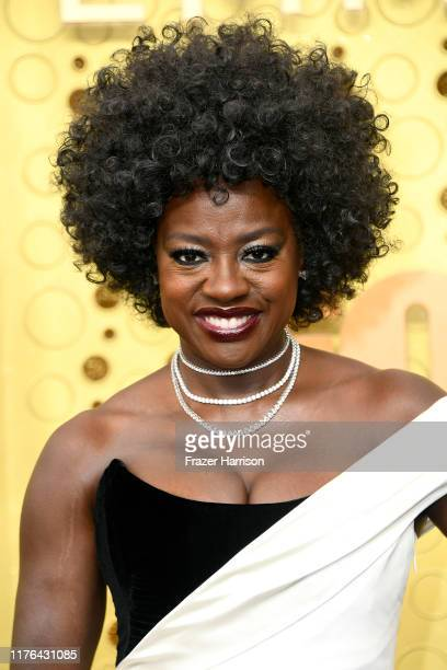 Viola Davis attends the 71st Emmy Awards at Microsoft Theater on September 22, 2019 in Los Angeles, California.