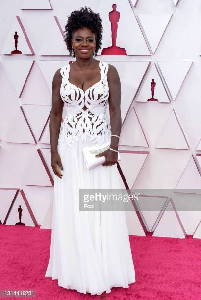 Viola Davis attends the 93rd Annual Academy Awards at Union Station on April 25, 2021 in Los Angeles, California.