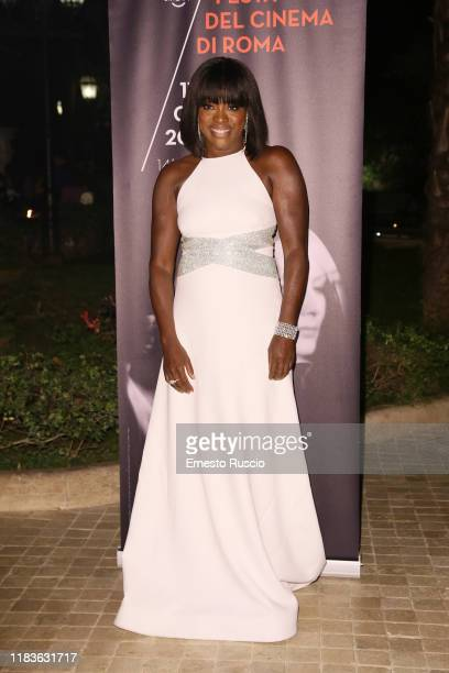 Viola Davis attends the dinner for Viola Davis during the 14th Rome Film Festival on October 26 2019 in Rome Italy
